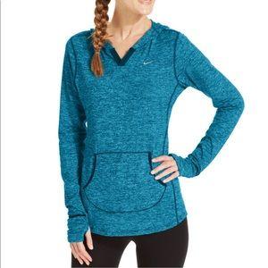 Nike dri-fit running hoodie